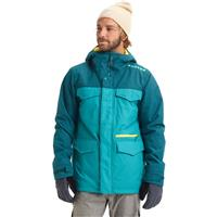 Green Blue Slate / Deep Teal Burton Covert Jacket Mens