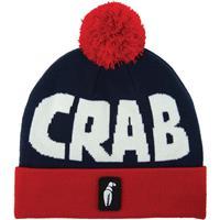 Crab Grab Pom Beanie Mens