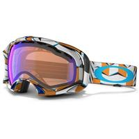 Cubism Orange Frame / Blue Iridium Lens (57 505) Oakley Splice Goggle