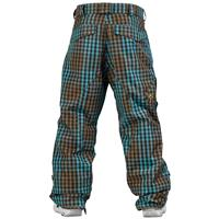 Curacao Yarn Dyed Plaid Burton Ranger Pant Mens