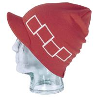 Currant Foursquare Icon Visor Beanie Mens