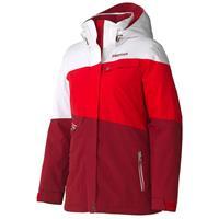 Dark Crimson/White Marmot Moonshot Jacket Womens