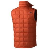 Dark Rust Marmot Ajax Vest Mens