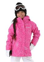 Columbia Bugaboo II 3-in-1 Jacket - Girl's - Pink Ice Floral
