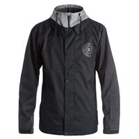 Black DC Shoes Cash Only Jacket Mens