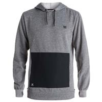 Heather Pewter DC Shoes Cloak Pullover Mens