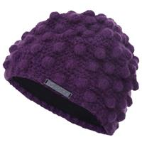 Deep Purple Roxy Iced Gem Beanie Womens