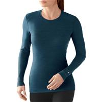 Deep Sea Heather Smartwool Midweight Crew Top Womens