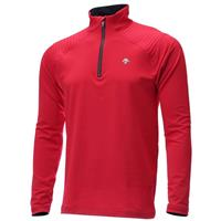 Descente Piccard Zip T Neck - Men's - Electric Red