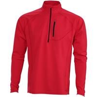 Descente Chase 1/4 Zip - Men's - Electric Red