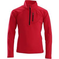 Electric Red / Black Descente Evan 1/4 Zip Boys