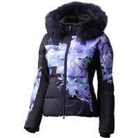 Sumi Black Descente Hana Fur Jacket Womens