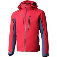 Descente Terro Men's Jacket - Electric Red / Midnight Shadow / Black