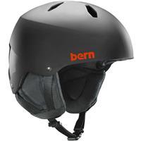 Matte Black Bern Diablo EPS Helmet Boys