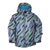 Diagonal Print Ride Joker Jacket Boys