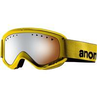 Dijon Frame / Silver Amber Lens Anon Helix Goggle