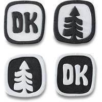 Black / White Dakine DK Dots Stomp Pad