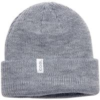 Coal The Frena Thick Knit Cuffed Slouch Beanie - Heather Grey