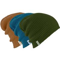 Rifle Green / True Penny / Mountaineer Burton DND 3 Pack Beanie Mens