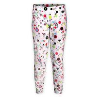 Hot Chilly's Mid Weight Print Bottom - Youth - Dots & Hearts