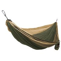 Olive/Khaki Grand Trunk Double Parachute Nylon Hammock