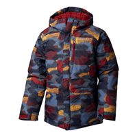 Columbia Lightning Lift Jacket - Boy's - Red Element