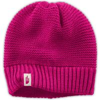 Dramatic Plum The North Face Purrl Stitch Beanie Womens
