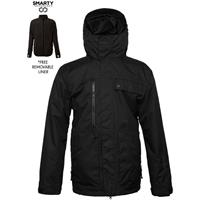 Duck Texture Black 686 Smarty Form Jacket Mens