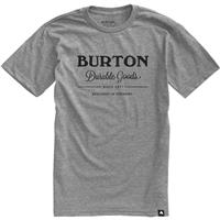 Gray Heather Burton Durable Goods Short Sleeve T Shirt Mens