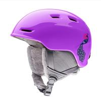 Purple Peacocks Smith Zoom Jr Helmet Youth