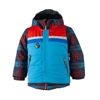 Obermeyer Grom Jacket - Boy's - El Wolf Plaid