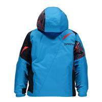Electric Blue / Black / Volcano Spyder Mini Challenger Jacket Boys