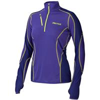 Electric Blue / Midnight Purple Marmot Thermo 1/2 Zip Womens