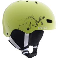 Electric Green RED Trace Grom Helmet Youth