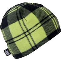 Electric Plaid Turtle Fur Playful Prints Beanies Youth