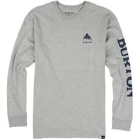 Gray Heather Burton Elite Long Sleeve T Shirt Mens