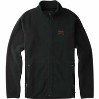 True Black (17) Burton Ember Full Zip Fleece Mens