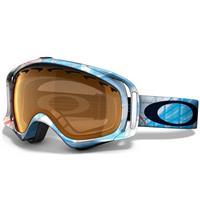 EQ Blue Frame / Persimmon Lens (57 115) Oakley Crowbar Goggle