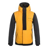 Cadmium Yellow Quiksilver Ambition Jacket Boys