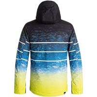 Sulphur Blue Lights (GGP6) Quiksilver Mission Engineered Jacket Boys