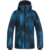 Blue Stellar (434) Quiksilver Mission Printed Jacket Boys