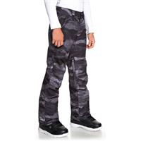 Quiksilver Estate Pant - Youth - Black Matte Painting