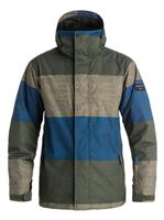 Str Forest Nt Quiksilver Mission Printed Jacket Mens