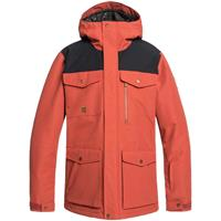 Quiksilver Raft Jacket - Men's - Barn Red