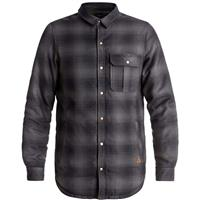 Quiksilver Wildcard Reversible Riding Shirt-Men's - Black/Grape Leaf