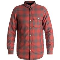 Quiksilver Wildcard Reversible Riding Shirt-Men's - Red/Black