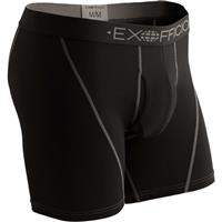 Exofficio Give-N-Go Sport Mesh 6 Boxer Brief - Men's - Solid Black