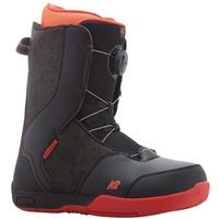 Black K2 Vandal Snowboard Boot Boys
