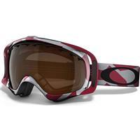 Factory Slant Crimson Frame / Black Iridium Lens (57 509) Oakley Crowbar Goggle