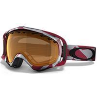 Factory Slant Crimson Frame / Persimmon Lens (57 510) Oakley Crowbar Goggle